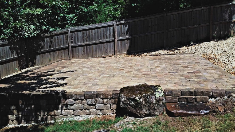 Belgard Paver Side View