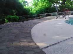 Belgard Cobblestone around pool